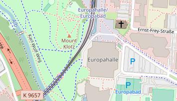 Karlsruhe Karte.Bergdorfmeile Karlsruhe Lauf In Deutschland